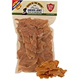 Chicken Jerky Dog Treats Made in USA Only - One Ingredient: USDA Grade A Chicken Breast - No Additives or Preservatives - Grain Free, All Natural Premium Strips - Healthy Training Snacks for Dogs