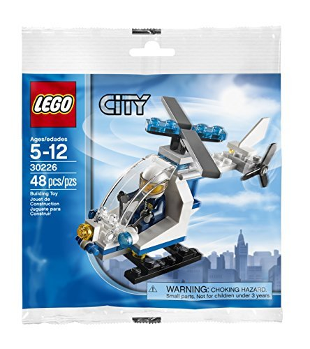 LEGO City: Police Helicopter Set 30226 (Bagged) [並行輸入品]