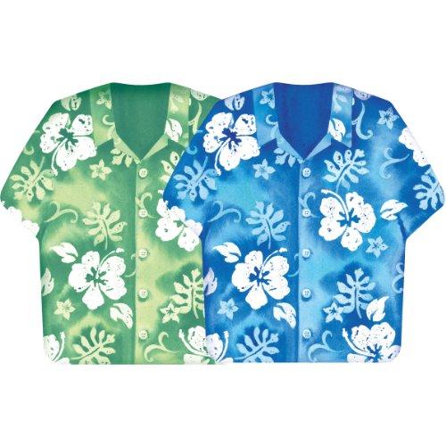 Bahama Breeze Shirt-Shaped Napkins, 16ct - 1