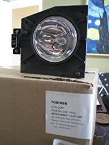 Generic replacment for Toshiba D95-LMP rear projector TV lamp with housing