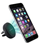 Air Vent Smartphone Car Mount w/ Magnetic 1 Step Mounting Technology - Best Cell Phone Holder for Your Car - Compatible with all Phones
