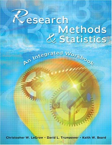 Research Methods & Statistics: An Integrated Workbook