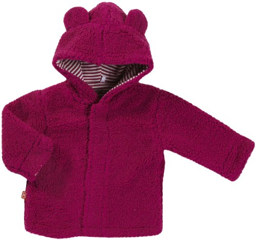 Magnificent Baby Baby-Girls Infant Hooded Bear Jacket, Raspberry, 12-18 Months