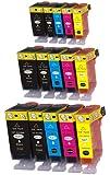 N.T.T.® 15 Stück kompatible XL Tintenpatronen mit CHIP & Füllstandanzeige