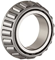 Timken 08125 Tapered Roller Bearing Inner Race Assembly Cone, Steel, Inch, 1.2500