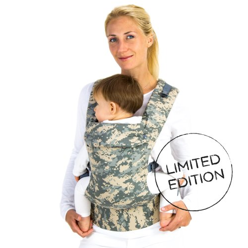 Great Features Of Beco Gemini Baby Carrier - Camo (Limited Edition)