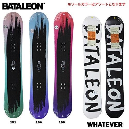 (バタレオン)BATALEON 2015年モデル bat-1510 スノーボード WHATEVER 156