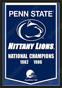 Dynasty Banner Of Penn State Nittany Lions-Framed Awesome & Beautiful-Must For A... by Art and More, Davenport, IA