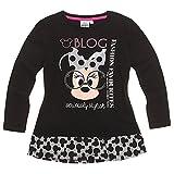 Disney Minnie Chicas Camiseta mangas largas - Negro - 116