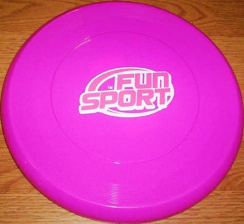 "10 ""Rosa o viola in plastica Frisbee Flying Disc (H147)"