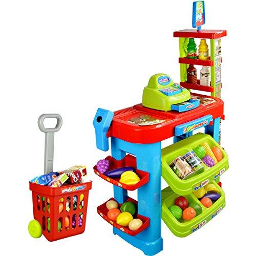 Deluxe Toy Cash Register : Awardpedia deluxe shopping cart with cash register