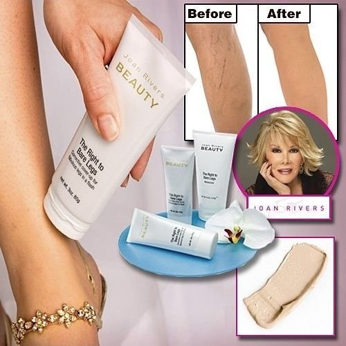 Lot of 2 - Joan Rivers Beauty-The Right to Bare Legs Correct