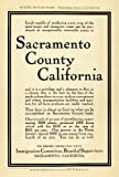 1912 Ad Sacramento California Agriculture Real Estate Farming Acreage Pricing - Original Print Ad