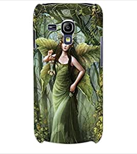 ColourCraft Graceful Angel Design Back Case Cover for SAMSUNG GALAXY S3 MINI I8190