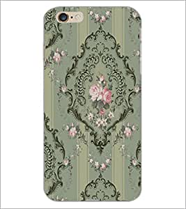 PrintDhaba Pattern D-2260 Back Case Cover for APPLE IPHONE 6 PLUS (Multi-Coloured)