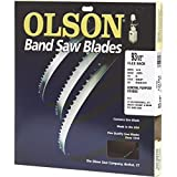 Olson Saw FB23193DB 1/2 by 0.025 by 93-1/2-Inch HEFB Band 3 TPI Hook Saw Blade thumbnail