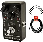 Xact XTS Precision Multi-Drive Pedal w/ 3 Guitar Cables from Xact