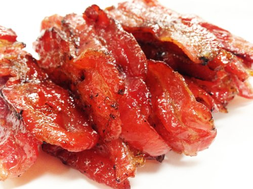 "Oriental Flame-Grilled Artisanal Bacon Jerky - Original Flavor (1 Pound) - Named ""2013 Handmade Gift"" By Los Angeles Times"