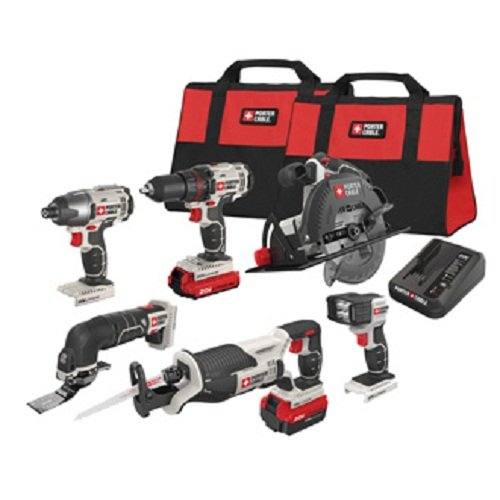 Learn More About PORTER-CABLE PCCK618L6 20V MAX 6-Tool Combo Kit