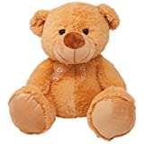FunZoo Cute Fuzzy Teddy Bear, Soft Stuffed Plush Toy (50 CM, Brown)
