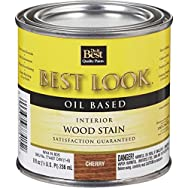 - W44N00805-12 Best Look Interior Wood Stain-CHERRY INT WOOD STAIN