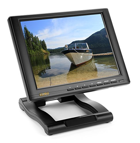 "Lilliput 10.4"" Fa1046-Np/C/T Vga Touch Screen With Dvi/Hdmi Input By Viviteq Inc"