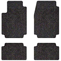 Intro-Tech Designer Custom Fit Auto Floor Mat - (Dark Brown), Set of 4