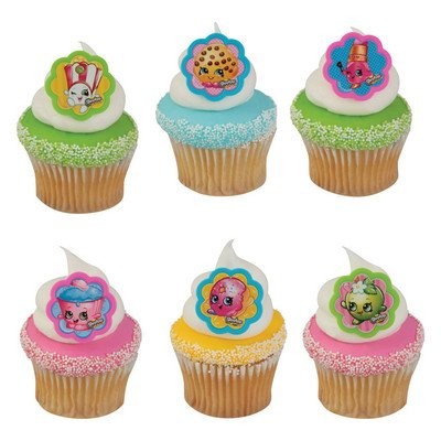 ShopkinsTM I Love ShopkinsTM Cupcake Rings - 24 ct