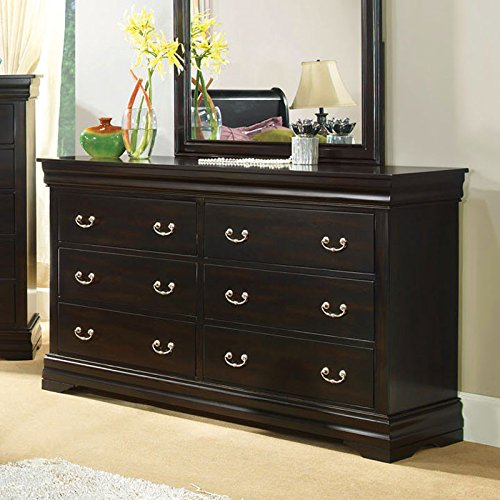 Espresso Finish Dresser back-697040