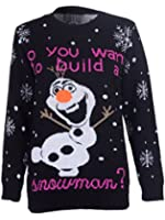 STYLE MIXX Do You Want To Build Snowman- Pull de l'OLAF Cadeau de Noël