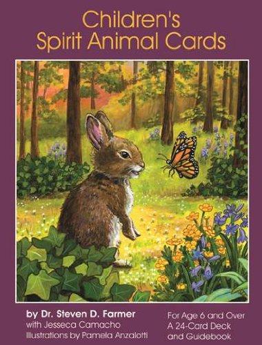 CHILDREN'S SPIRIT ANIMAL CARDS (24 cards & guidebook)