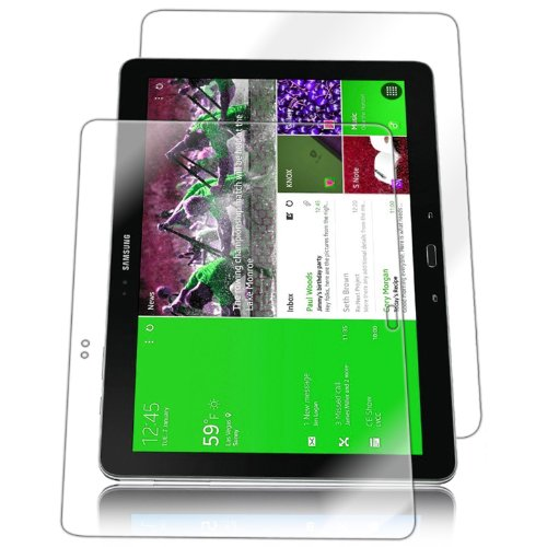 """Iq Shield Liquidskin - Samsung Galaxy Tab Pro 12.2"""" Screen Protector + Full Body (Front And Back) With Lifetime Replacement Warranty - High Definition (Hd) Ultra Clear Tablet Smart Film - Premium Protective Screen Guard - Extremely Smooth / Self-Healing / front-424447"""