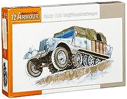 Special Armour 1:72 German Sd.Kfz. 11/2 Entgiftungsktaftwagen #Sa72010