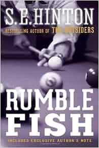 Rumble fish 9780385375689 s e hinton books for Rumble fish book