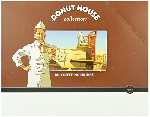 Donut House Collection Donut House Decaf, Keurig K-Cups, 24-Count
