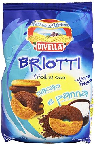 Divella Frollini Briotti Pan/Cacao Gr400