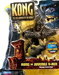 """Kong Basic Figure: Kong vs. Juvenile V-Rex 6"""""""