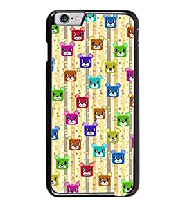 PrintDhaba Cartoon Pattern D-4050 Back Case Cover for APPLE IPHONE 6 PLUS (Multi-Coloured)