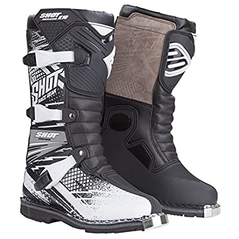 SHOT Kid Bottes Cross K10 Noir