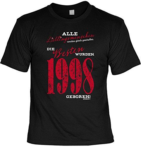 T shirt die besten wurden 1998 geboren lustiges - Tolles geschenk zum 18 ...