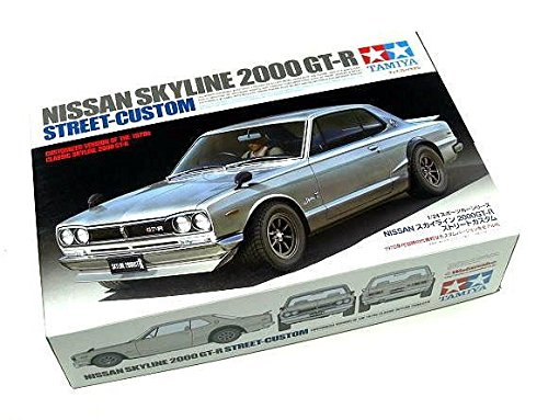 RCECHO® Tamiya Automotive Model 1/24 Car Nissan Skyline 2000 GT-R Street-Custom 24335 with RCECHO® Full Version Apps Edition