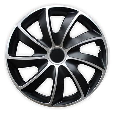 Radkappen Bicolor 15 Zoll Fiat 500, Bravo, Brava, Doblo, Grande Punto, Evo, Idea, Linea von Autoteppich Stylers auf Reifen Onlineshop