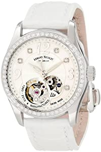 Armand Nicolet Women's 9653D-AN-P953BC8 LL9 Limited Edition Stainless Steel Classic Automatic with Diamonds Watch