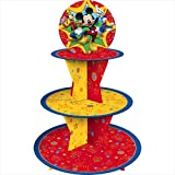 Mickey Mouse 'Fun and Friends' Tiered Paper Cupcake Holder (1ct)