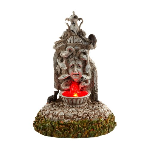 Department 56 Halloween Village Cross Product Cursed Fountain