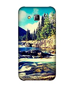 small candy 3D Printed Back Cover For Samsung Galaxy On7 -Multicolor nature