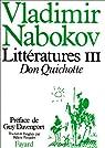 Littératures, tome 3 : Don Quichotte par Nabokov