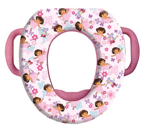 Read About Dora The Explorer Soft Potty Seat Superstyle, Dora Butterfly Buddies