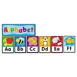 Quick Stick Bulletin Board Set, Alphabet by CARSON-DELLOSA PUBLISHING (Catalog Category: Paper, Pens & Desk Supplies / Teacher\'s Aids / Classroom Decoration/Motivation)