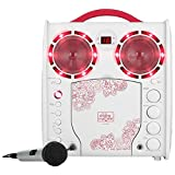 THE SINGING MACHINE SML383YP CD+G Karaoke Player (Pink)